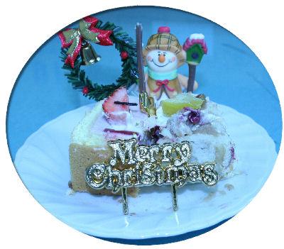 クリスマスケーキ【布・生地通販a-priori】